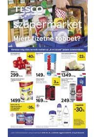 Tesco szupermarket akciós újság 2019. 05.16-05.22