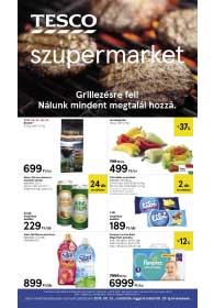 Tesco szupermarket akciós újság 2019. 05.23-05.29