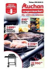 Auchan Szupermarket akciós újság 2019. 06.06-06.12