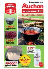 Auchan Szupermarket akciós újság 2019. 06.13-06.19