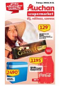 Auchan Szupermarket akciós újság 2019. 06.20-06.26