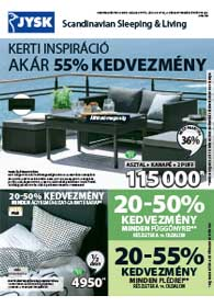 JYSK akciós újság 2019. 05.30-06.12