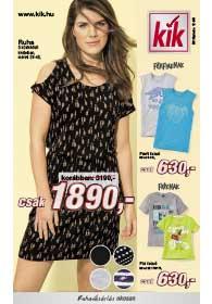 Kik textil akciós újság 2019. 06.12-től