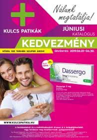 Kulcs patika akciós újság 2019. 06.01-06.30