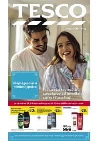 Tesco Szépségápolás akciós újság 2019. 06.06-06.19