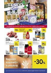 Tesco szupermarket akciós újság 2019. 06.06-06.12