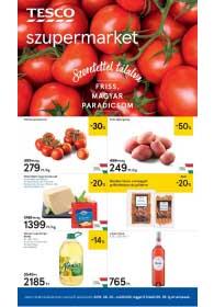Tesco szupermarket akciós újság 2019. 06.20-06.26