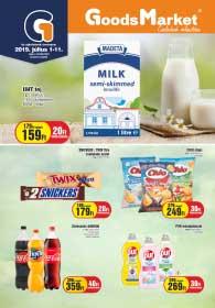 Goods Market akciós újság 2019. 07.01-07.11