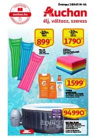 Auchan akciós újság 2019. 07.04-07.10