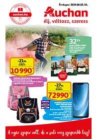 Auchan Iskolakezdés katalógus 2019. 08.01-08.14