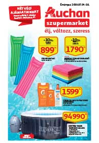 Auchan Szupermarket akciós újság 2019. 07.04-07.10