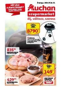 Auchan Szupermarket akciós újság 2019. 07.18-07.24