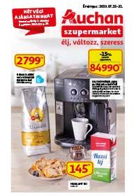 Auchan Szupermarket akciós újság 2019. 07.25-07.31
