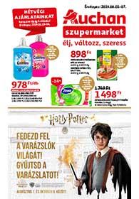 Auchan Szupermarket akciós újság 2019. 08.01-08.07