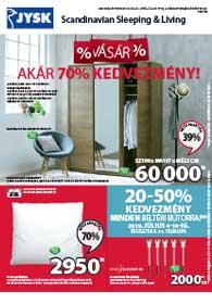 JYSK akciós újság 2019. 07.04-07.17