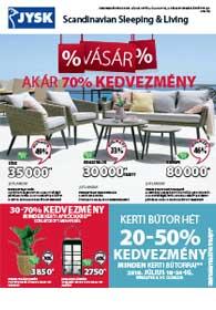 JYSK akciós újság 2019. 07.18-07.31