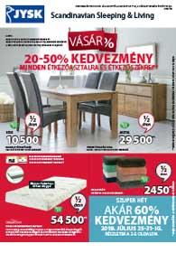 JYSK akciós újság 2019. 07.25-08.07