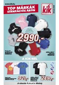 Kik textil akciós újság 2019. 07.10-től