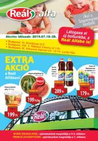 Reál Alfa akciós újság 2019. 07.18-07.28