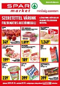 Spar Market akciós újság 2019. 07.25-07.31