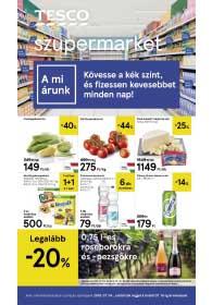 Tesco szupermarket akciós újság 2019. 07.04-07.10
