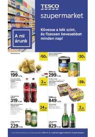 Tesco szupermarket akciós újság 2019. 07.18-07.24