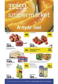 Tesco szupermarket akciós újság 2019. 07.25-07.31