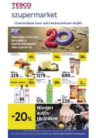 Tesco szupermarket akciós újság 2019. 08.01-08.07
