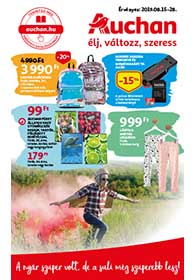 Auchan Iskolakezdés katalógus 2019. 08.15-08.28