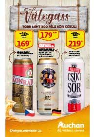 Auchan Sör katalógus 2019. 08.08-08.21