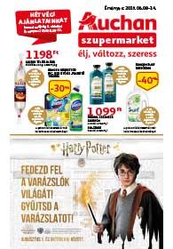 Auchan Szupermarket akciós újság 2019. 08.08-08.14