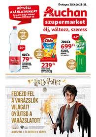 Auchan Szupermarket akciós újság 2019. 08.15-08.21