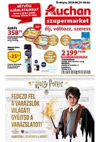 Auchan Szupermarket akciós újság 2019. 08.29-09.04