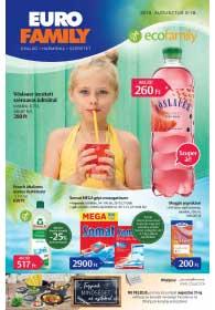 Euro Family akciós újság 2019. 08.08-08.18