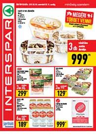 Interspar akciós újság 2019. 08.08-08.14