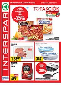 Interspar akciós újság 2019. 08.22-08.28
