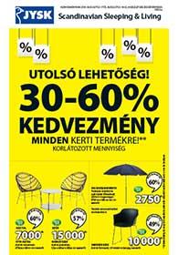 JYSK akciós újság 2019. 08.01-08.14