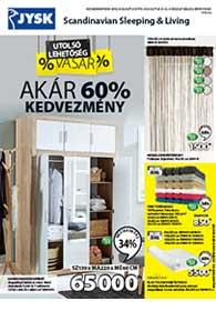 JYSK akciós újság 2019. 08.08-08.21