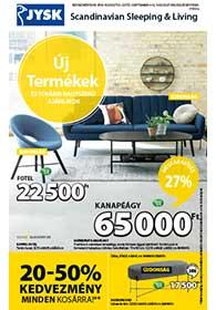 JYSK akciós újság 2019. 08.22-09.04