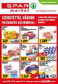 Spar Market akciós újság 2019. 08.08-08.14