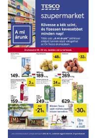 Tesco szupermarket akciós újság 2019. 08.15-08.21