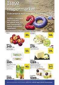 Tesco szupermarket akciós újság 2019. 08.22-08.28