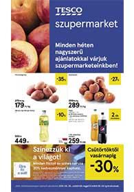 Tesco szupermarket akciós újság 2019. 08.29-09.04