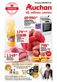 Auchan akciós újság 2019. 09.19-09.25