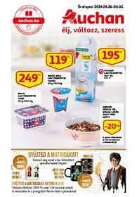 Auchan akciós újság 2019. 09.26-10.02