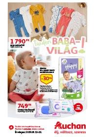 Auchan Babavilág akciós újság 2019. 09.12-09.25