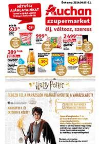 Auchan Szupermarket akciós újság 2019. 09.05-09.11