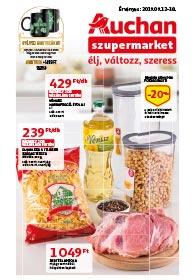 Auchan Szupermarket akciós újság 2019. 09.12-09.18