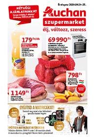 Auchan Szupermarket akciós újság 2019. 09.19-09.25