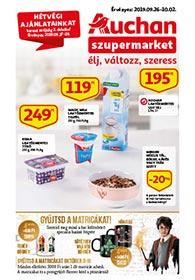 Auchan Szupermarket akciós újság 2019. 09.26-10.02